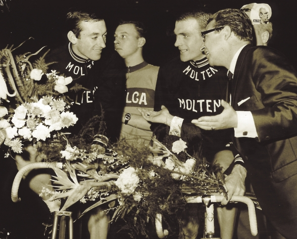 Rudi Altig and Sigi Renz at the 1966 Zurich 6-dayZuric