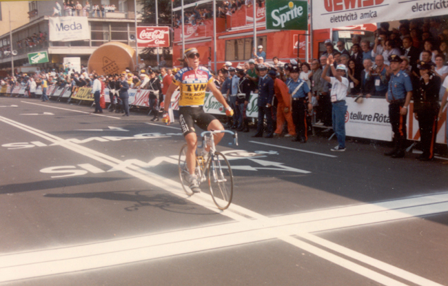 Phil anderson wins tage 17 of the 1989 Giro d'Italia