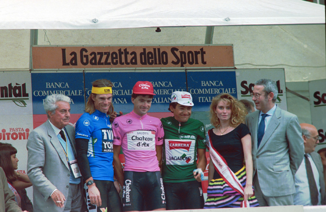 Anderson at the 1993 Giro d'Italia