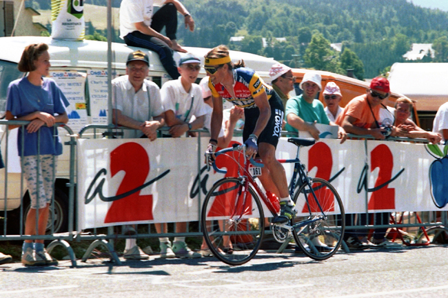 Phil Anderson in the 1990 tour de France