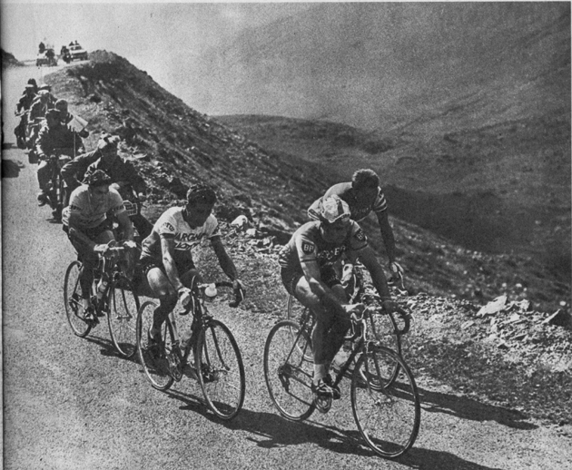 Anquetil in the 1963 Tour de France