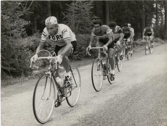 Anquetil in the 1966 Giro