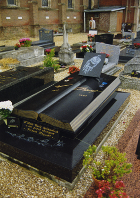 Jacques Anquetil's grave