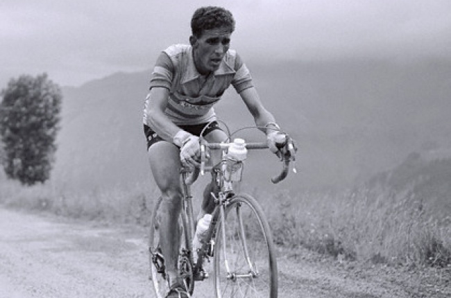 Federico Bahamontes in the 1956 Tour de France