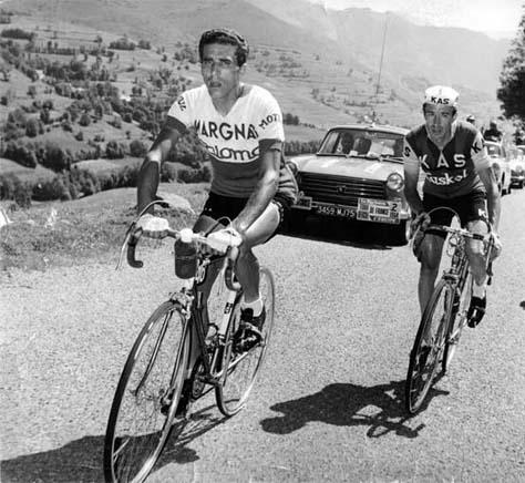 Federico Bahamontes and Julio Jimenez