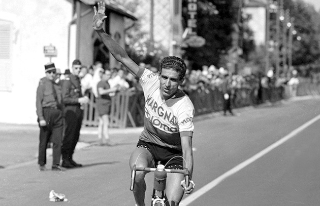 Federico Bahamontes in the 1964 Tour de France