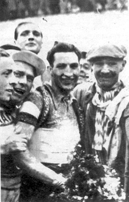Gino Bartali has won the 1936 Giro d'Italia