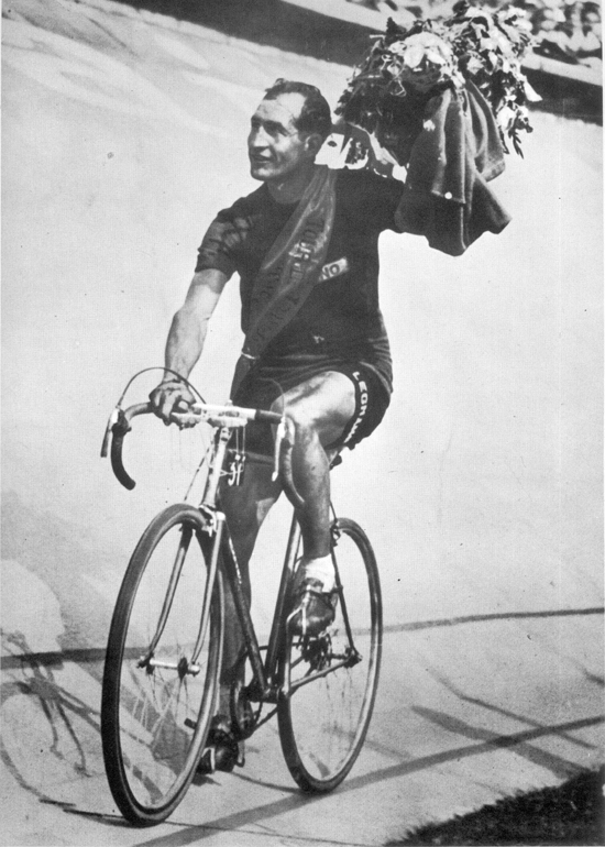 Gino Bartali wins the 1948 Tour de France