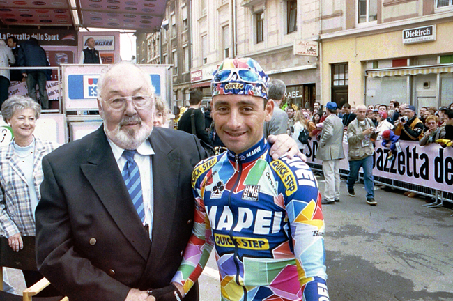 Charly Gaul and Pauil Bettini