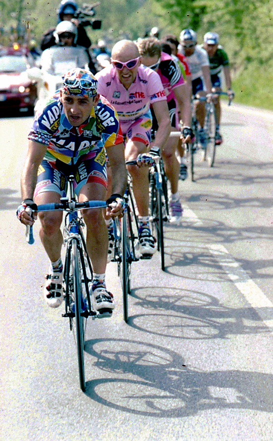 Paolo Bettini and Stefano Garzelli