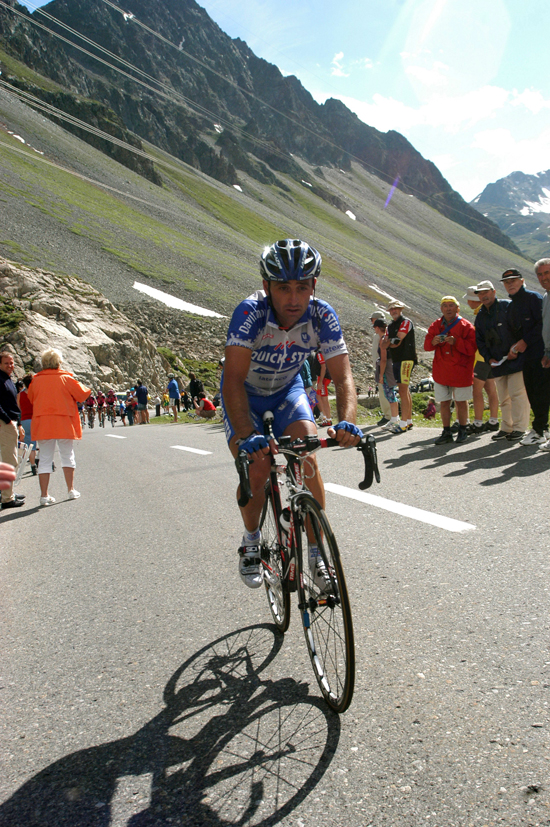Bettini in the 2003 Giro d'Italia