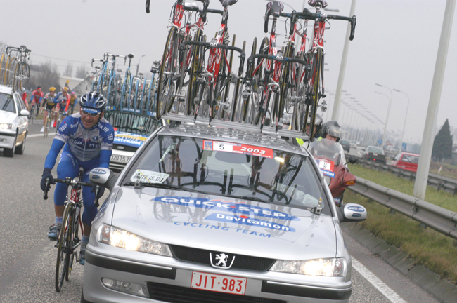 Paolo Bettini in the 2003 Het Volk