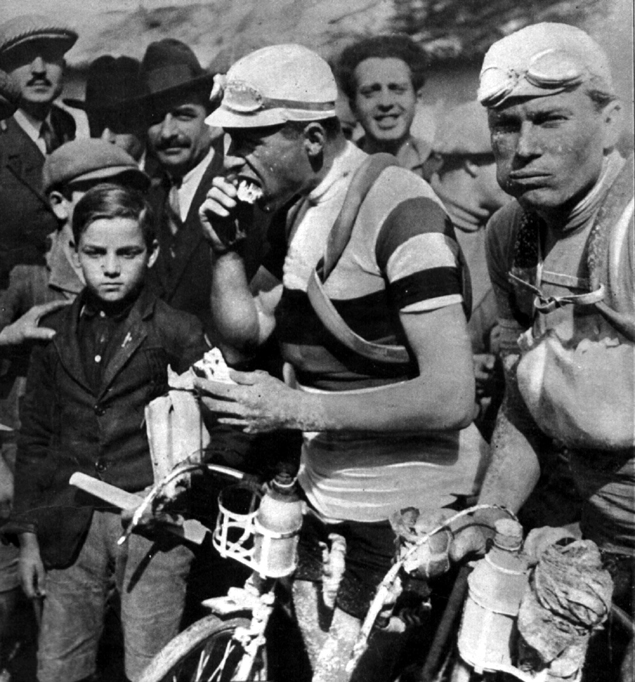 Alfredo Binda in the 1928 Giro d'Italia