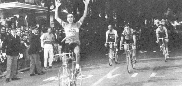 Birossi wins in San Pellegrino in the 1964 Giro