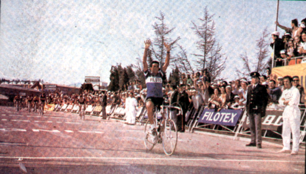 1970 Giro: Bitossi wins stage 1