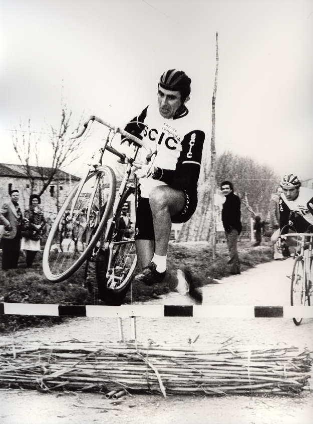 Bisotti in cyclocross race