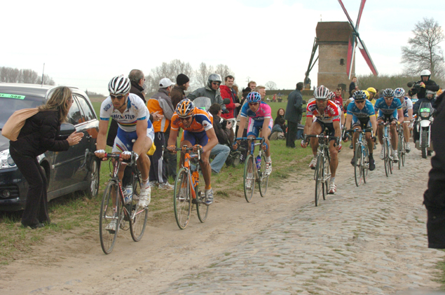 Tom Boonen in the 2006 Paris-Roubaix