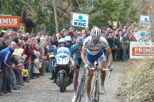 Tom Boonen and Frank Hoste