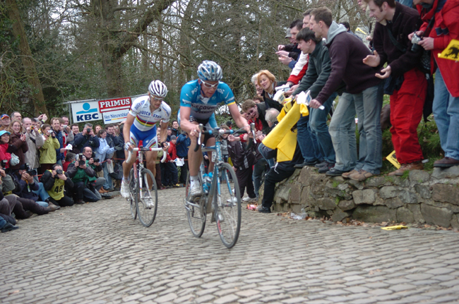 Lief Hoste and Tom Boonen