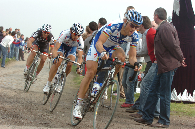 Boonen in the 2009 tour of Flanders
