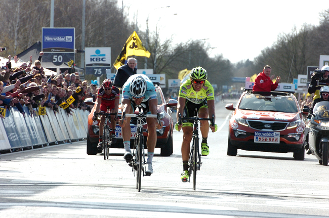 tom Boonen wins the 2012 Tour of Flanders