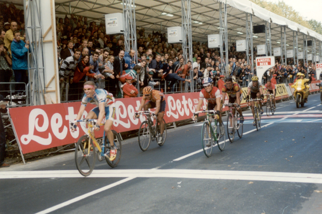 Laurent Brochard wins the 1997 World Road Championships