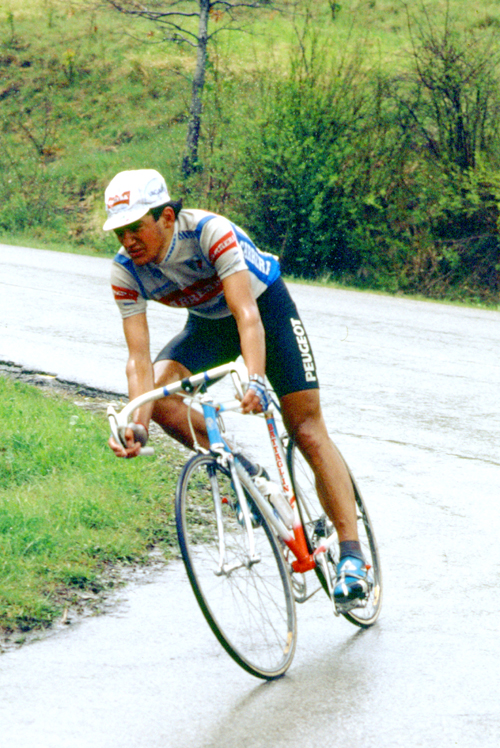 Claudio Chiappuci in the 1987 Giro di Toscana