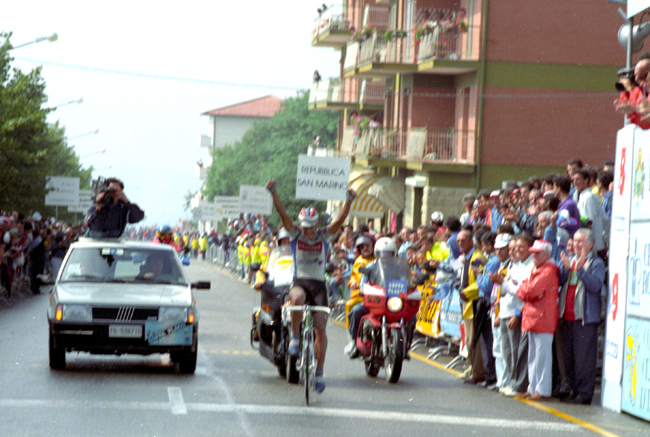Chiappucci wins the 1989 Coppa Placci