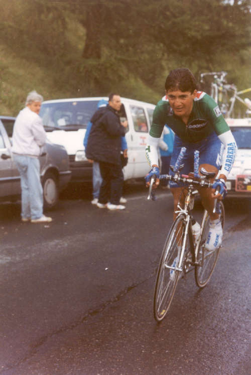 Chiappucci rides the 19th stage of the 1993 Giro