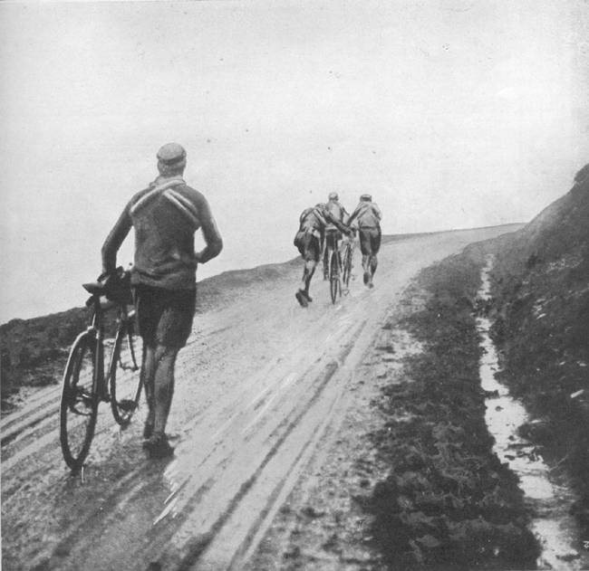 1913 Tour de France in the Pyrenees