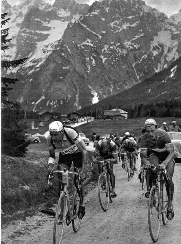1951 Giro d'Italia: Coppi, bobet and Kübler