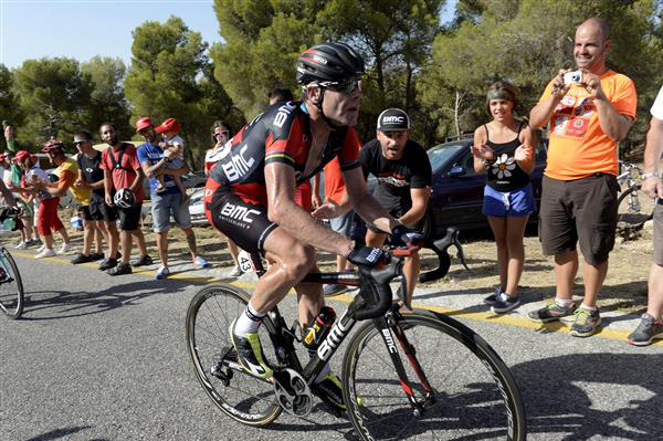 Cael EVan in Vuelta stage 6