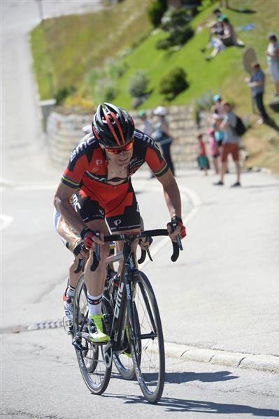 Cadel Evans at the Tour of Switzerland