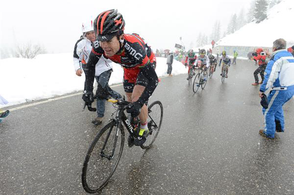 Cadel Evans in the 2013 Giro