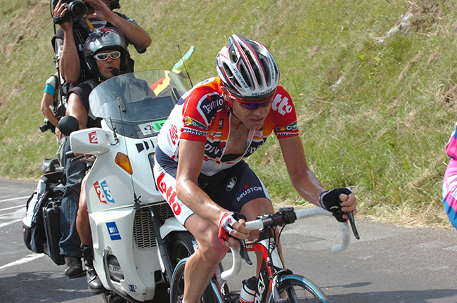 Cael Evans in the 2006 Tour de France