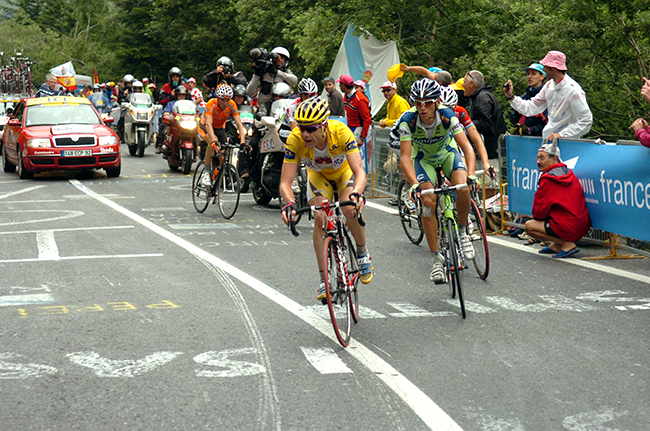 Cael Evans in the 2008 Tour de France
