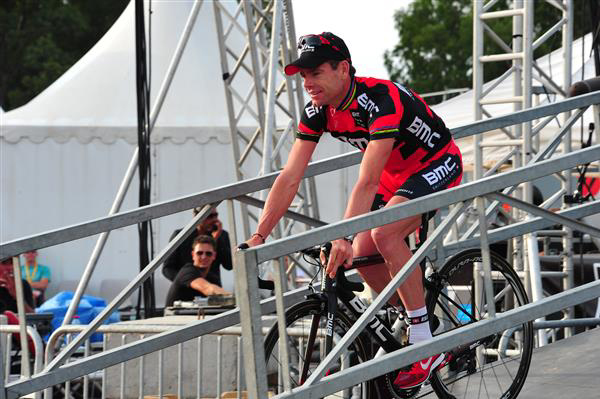 Cael Evans at the 2013 Tour de France