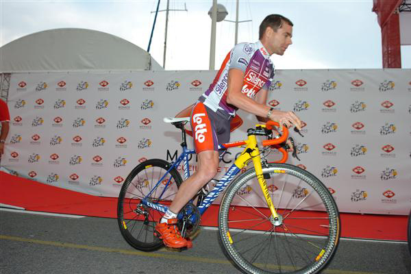 Cadel Evans at the 2009 Tour
