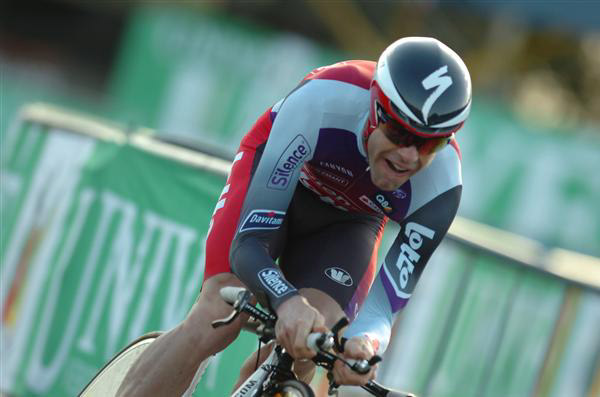 Cadel Evans at the Vuelta