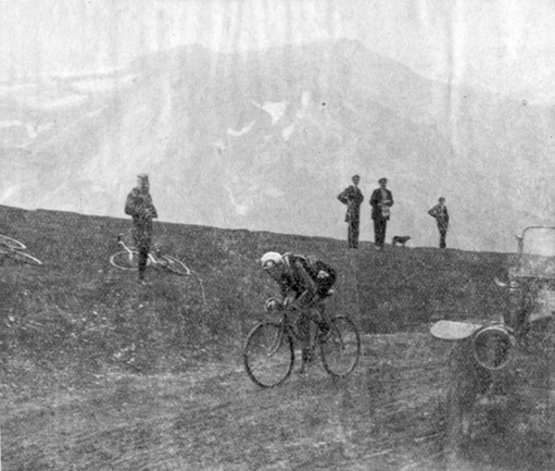 Francois Faber in the 1913 Tour de France
