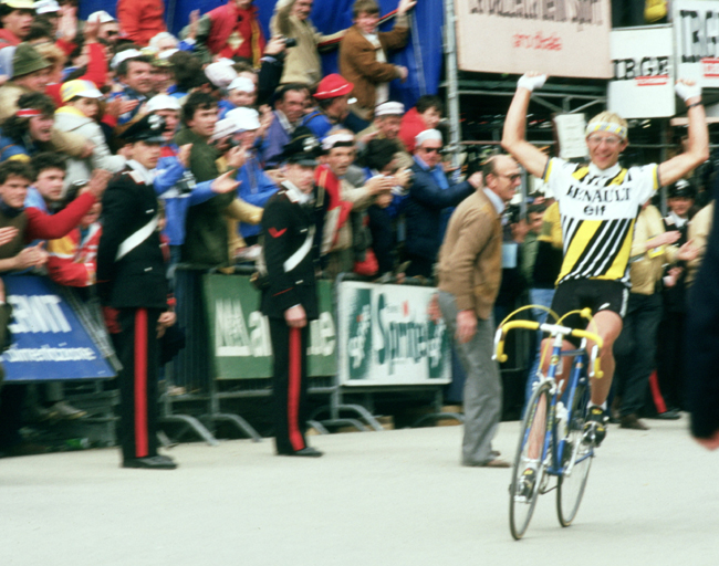 Laurent Fignon wins the 1984 Giro' stage 20
