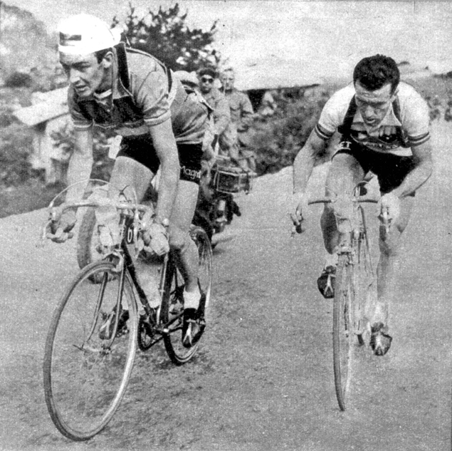 Charly Gaul and Louison Bobet