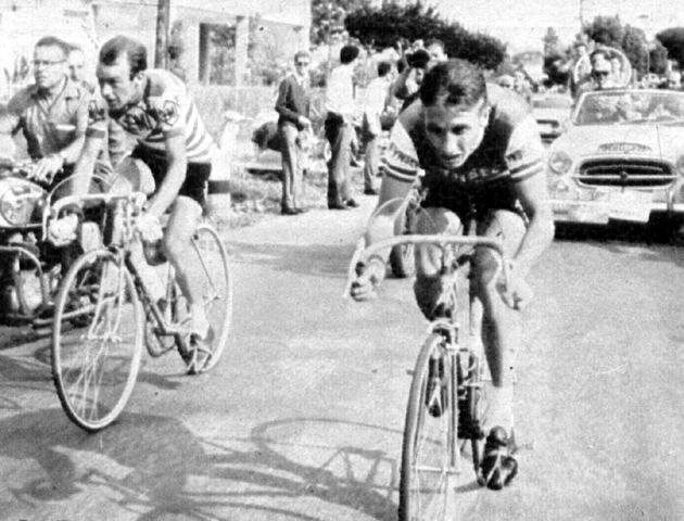 Anquetil overtakes Gauls