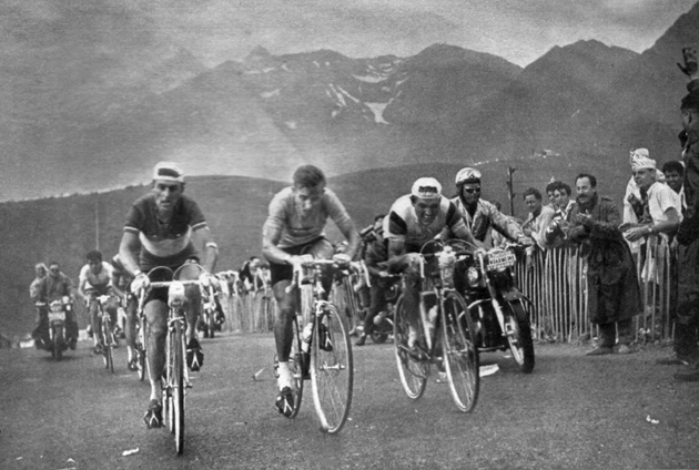 Charly Gaul in the 1961 Tour