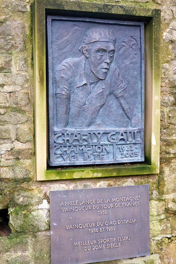 Charly Gaul plaque