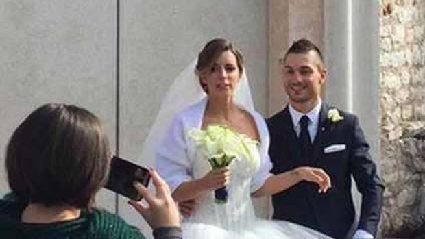Andrea Guardini gets married