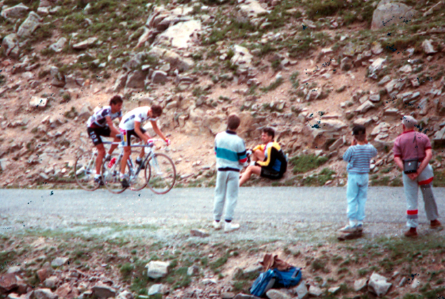 Hampsten ins tage 16 of the 1986 Tour de France