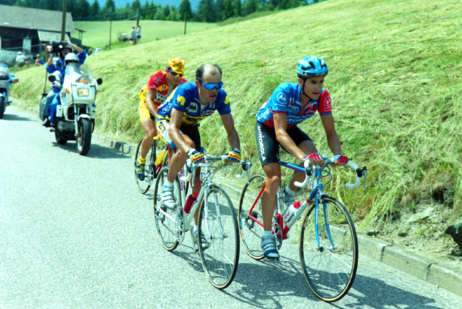 Hampsten ins tage 13 of the 1993 Giro d'Italia