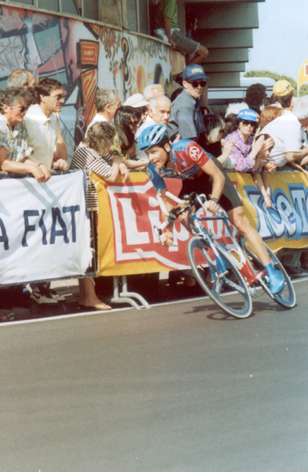 Hampsten in the 1994 Giro d'Italia
