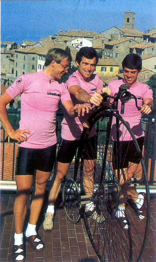 1982 Giro: The first three pink jerseys